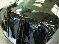 Mazda 6 черная глянцевая пленка гармонично смотриться на любом цвете - даже на лиловом!