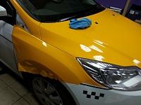Ford Focus 3 желтое такси