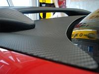 SUBARU IMPREZA капот, крыша, багажник и спойлер приобрели эффект карбона с использованием виниловой пленки произведенной компанией 3М