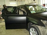 RX330 черная матовая пленка