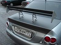 Mitsubishi Lancer 9 3D Carbon крыша, капот, багажник, спойлер