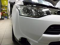 Mitsubishi Outlander 3 белый матовый