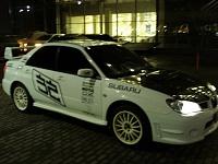 Автонаклейки на кузове Subaru Impreza.