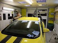 Opel Astra полоски + крыша