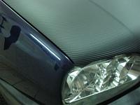 """VW GOLF """"карбоновые"""" крыша и капот не только украсили но и обновили вид автомобиля."""
