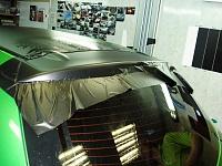 MAZDA 6 стайлинг крышы , капота и багажника черной матовой пленкой