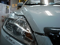 Ламинация капота Ford Focus.