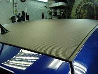 Fiat Punto 3D Carbon пороги, крыша, капот