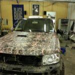 Nissan Patrol камуфляж