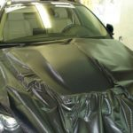 BMW Х6 тюнинговый капот 3D Carbon