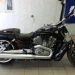Мотоцикл Harley Davidson черный глянец
