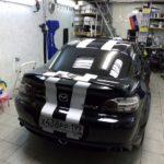 Mazda RX8 белые полосы восстановление
