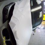 Белая матовая пленка гораздо ярче любой покраски и BMW 5 явное тому подтверждение.