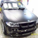BMW 125. BMW 125 смотрится очень оригинально. Так же была произведена тонировка стоп сигналов.