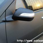 ACURA MDX оклееная пленкой под карбон , приобретает еще более спортивный вид и получает дополнительную защиту от сколов на кузове.