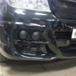 Toyota LC 200 капот, багажник оклеены карбоновой 3D пленкой