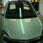 Opel Astra глянцевая крыша