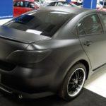 Mazda 6. Оклейка матовой виниловой пленкой придала машине неповторимый стиль.