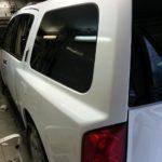 QX 56 белый глянец