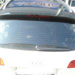 Audi Q8. Панорамная крыша черной глянцевой пленкой на таком автомобиле выглядит просто шикарно.