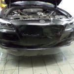 BMX 7. Ламинация автомобиля прозначной пленкой. Вданном случае BMW 7Series