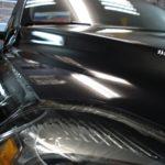 Защита капота Volvo XC 90 . Виниловая пленка 100 мкр.