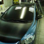 Панорамная крыша и 3D carbon на капот. Honda Civic 4D.