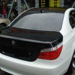 BMW X6 изменение цвета черной виниловой пленкой отдельных частей кузова