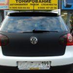 VW Golf и карбоновая пленка - отличное сочетание!