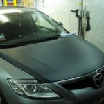 Mazda CX7 капот, крыша, зеркала 3D Carbon