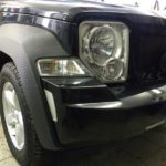 Jeep Chirokee 3D Carbon пороги