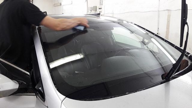 Бронирование стекол авто
